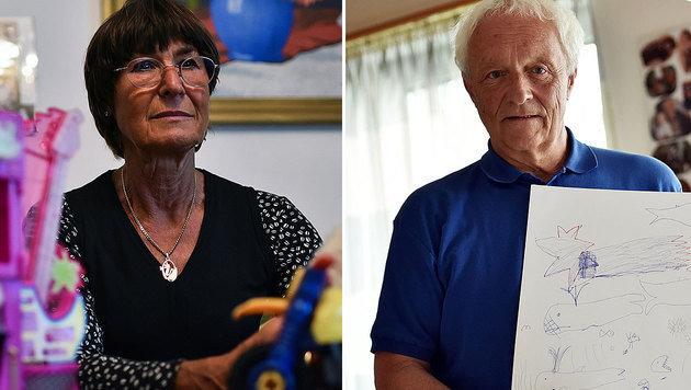 """Roland H.s Eltern: """"Wir werden immer hinter ihm stehen."""" (Bild: Markus Wenzel)"""