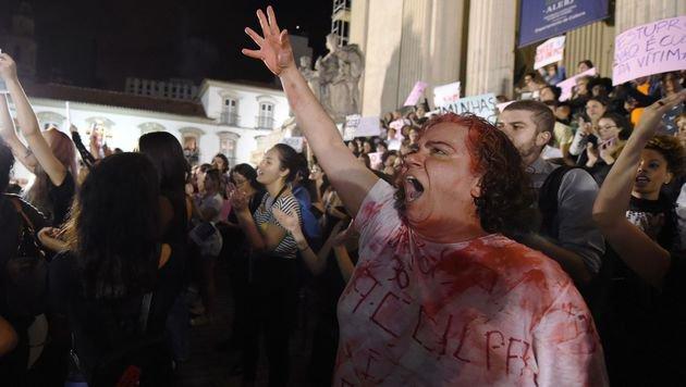 Brasilien: M�dchen von 30 M�nnern vergewaltigt (Bild: AFP)