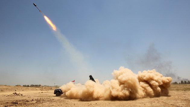 Irak: Massenflucht aus umkämpfter Stadt Falludscha (Bild: AFP)