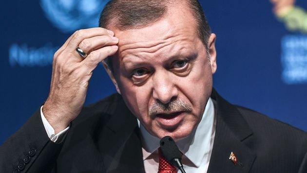 Visafreiheit: Türkei-Präsident Erdogan geht auf Konfrontation mit Berlin. (Bild: AFP)