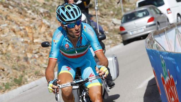 Vincenzo Nibali (Bild: APA/AFP/LUK BENIES)