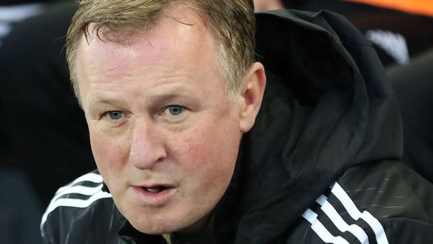 "Coach Michael O""Neill (Bild: APA/AFP/PAUL FAITH)"