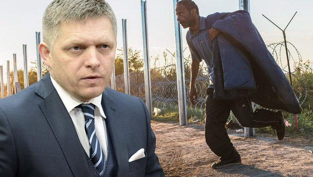 """Slowakei-Premier: """"Islam hat keinen Platz bei uns"""" (Bild: AFP/Thierry Charlier (Archivbild))"""