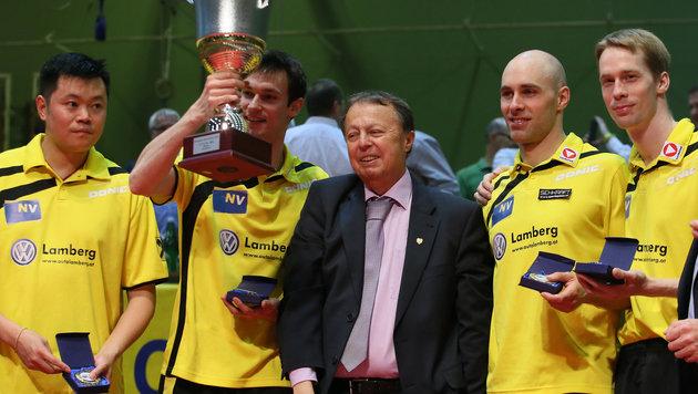 Das Team um Obmann Friedschröder (Bild: GEPA)