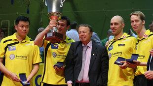 Weinviertel N� gewinnt ETTU-Cup - und h�rt auf! (Bild: GEPA)