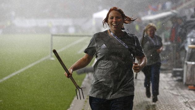 Deutschland-Blamage bei EM-Test gegen Slowakei (Bild: AP)