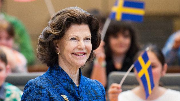 Königin Silvia macht sich in Wien für Kinder stark (Bild: ASSOCIATED PRESS)