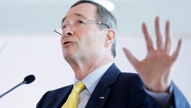 Wirtschaftskammer-Präsident Christoph Leitl (Bild: APA/GEORG HOCHMUTH)