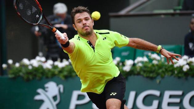 Titelverteidiger Stan Wawrinka im Viertelfinale (Bild: AFP)