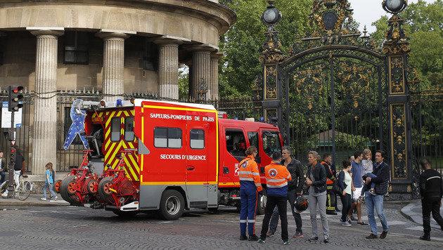 Dutzende Verletzte nach Blitzschlägen in Europa (Bild: AP)