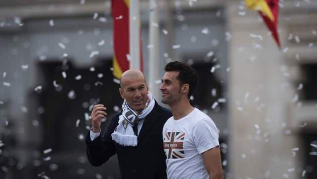 """""""Campeones!"""" Real feiert den """"magischen Moment"""" (Bild: AFP)"""