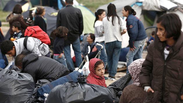 EU beschlie�t gemeinsamen Grenz- und K�stenschutz (Bild: AFP)