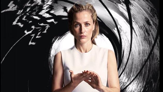 """Gillian Anderson als """"Jane Bond"""" auf Twitter - ist Bond reif für eine Frau? (Bild: twitter.com)"""