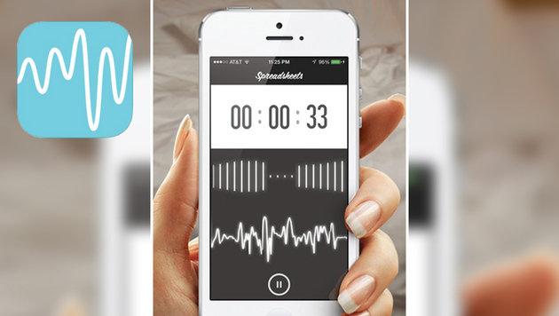 """""""Neue App zeigt an, wie gut ihr im Bett seid (Bild: Spreadsheets)"""""""