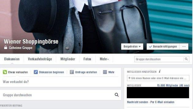 """""""Aus alt mach neu: diese Online-Börsen boomen! (Bild: www.facebook.com/groups/312380988842768)"""""""