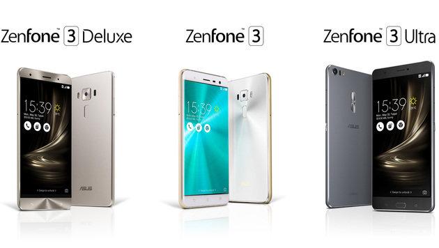 Zenfone 3: Asus enthüllt neue Smartphone-Familie (Bild: Asus)