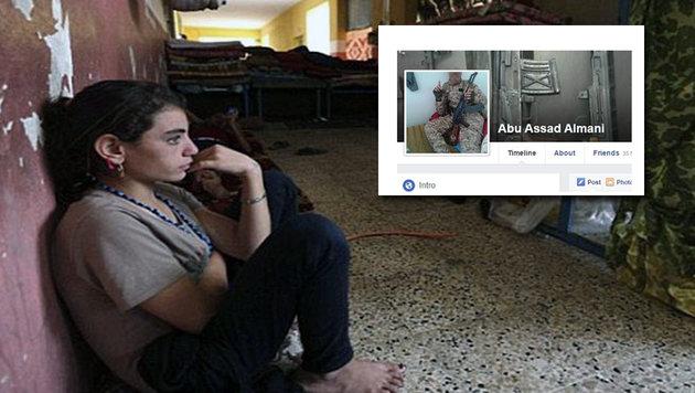 Deutscher IS-Terrorist verkauft Sex-Sklavinnen (Bild: facebook.com, MEMRI JTTM)