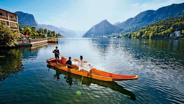 Romantisches Frühstück am See (Bild: Steiermark Tourismus/ikarus.cc)