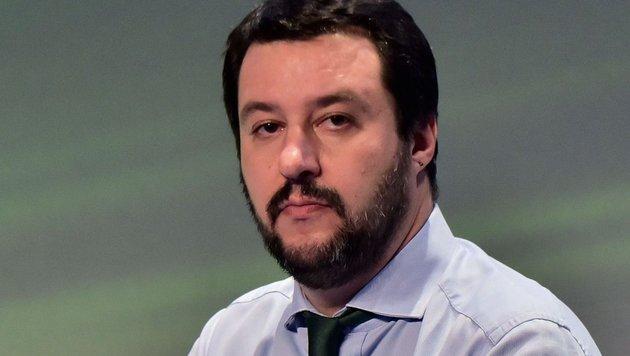 Lega-Nord-Chef Matteo Salvini (Bild: APA/AFP/Giuseppe Cacace)