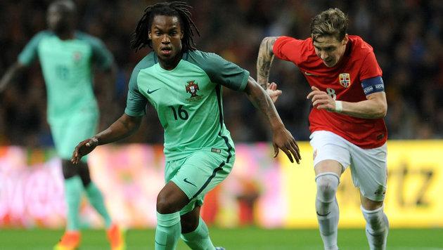 Österreichs EM-Gegner Portugal schlägt Norwegen (Bild: ASSOCIATED PRESS)