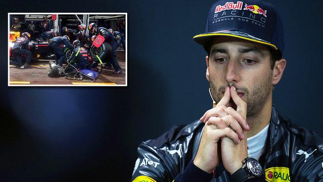 "Ricciardo sauer auf Red Bull: ""Wurde verarscht!"" (Bild: GEPA, APA/AFP/POOL/ANDREJ ISAKOVIC)"