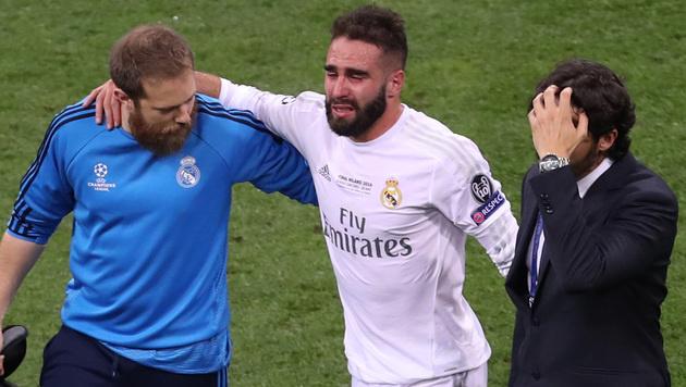 Spanien reist ohne Real-Spieler Carvajal zur EM (Bild: AP)