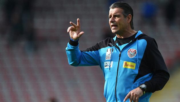 Trainer Russ verlässt Kapfenberg - bald Vastic-Co? (Bild: GEPA)