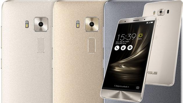 Das Zenfone 3 Deluxe bietet Oberklasse-Features wie ein AMOLED-Display. (Bild: Asus)