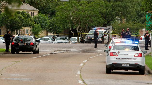 Zwei Menschen bei Schießerei in Houston getötet (Bild: AP/Houston Chronicle/Gary Fountain)