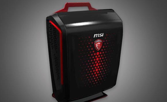 """Auch MSI kündigte mit dem """"Backpack PC"""" einen tragbaren VR-Rechner an. (Bild: MSI)"""