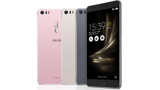 Mit 6,8 Zoll Diagonale ist das Zenfone 3 Ultra ein Gigant von einem Smartphone. (Bild: Asus)