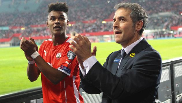 Louis Schaub erstmals im Kader des Nationalteams (Bild: GEPA)