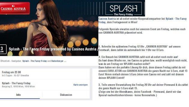 """""""5 Tipps: So feiert ihr trotz Ebbe im Sparschwein! (Bild: facebook.com/events)"""""""