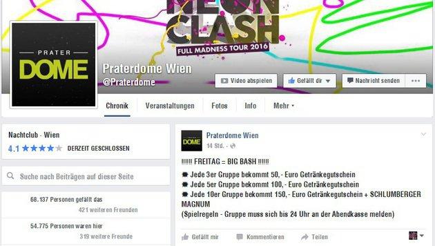 """""""5 Tipps: So feiert ihr trotz Ebbe im Sparschwein! (Bild: facebook.com/praterdome)"""""""