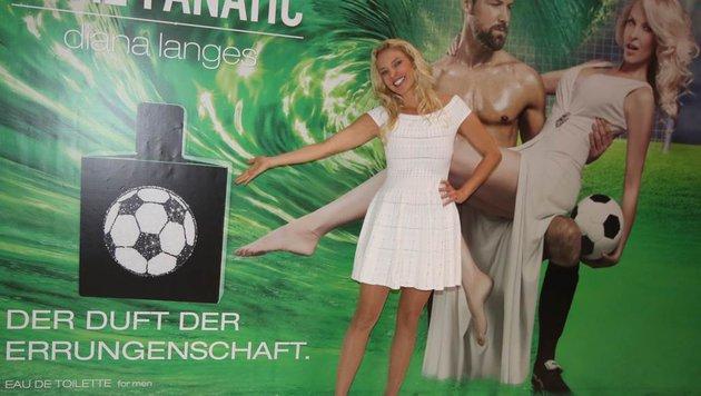"""Diana Langes-Swarovski bei der Präsentation ihres Duftes """"Real Fanatic"""" (Bild: Recka Hammann)"""