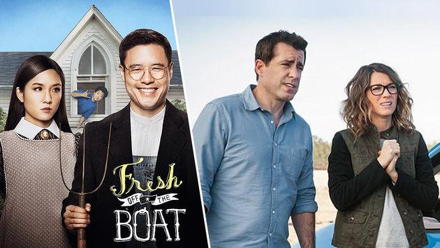 Diese neuen Serien bringen Sie zum Lachen (Bild: ABC, tbs)