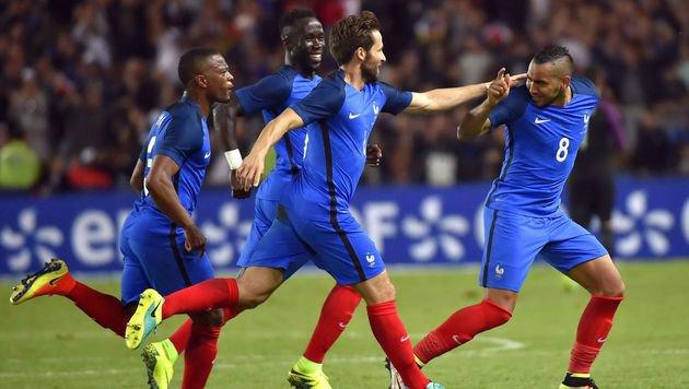 Französischer Last-Minute-Sieg gegen Kamerun (Bild: AFP)
