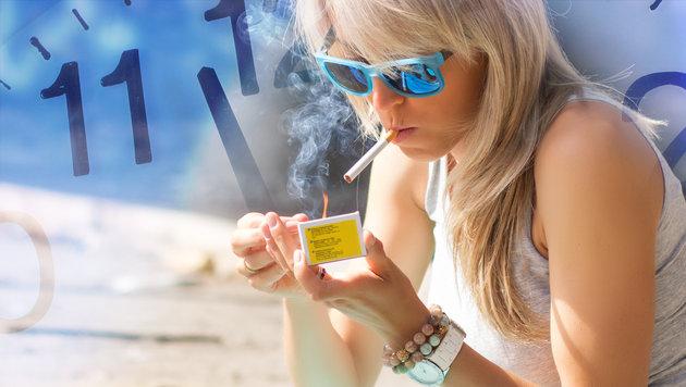 Fünf Tage mehr Urlaub für Nichtraucher? (Bild: thinkstockphotos.de)