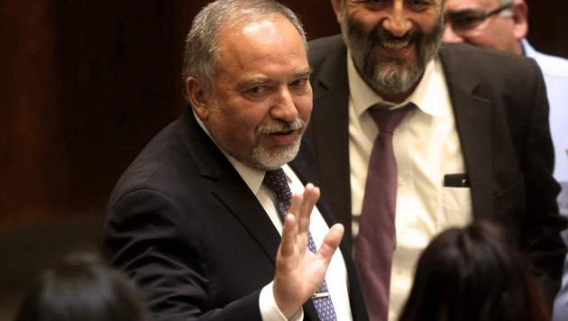Der neue Verteidigungsminister Avigdor Lieberman (Bild: APA/AFP/MENAHEM KAHANA)