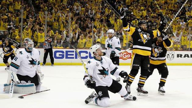 NHL: Penguins gewinnen erstes Finalspiel (Bild: APA/AFP/GETTY IMAGES/BRUCE BENNETT)