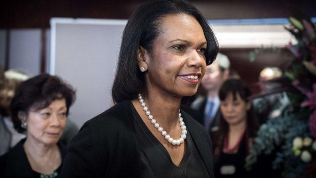 Condoleezza Rice war Au�enministerin unter US-Pr�sident George W. Bush. (Bild: AFP)