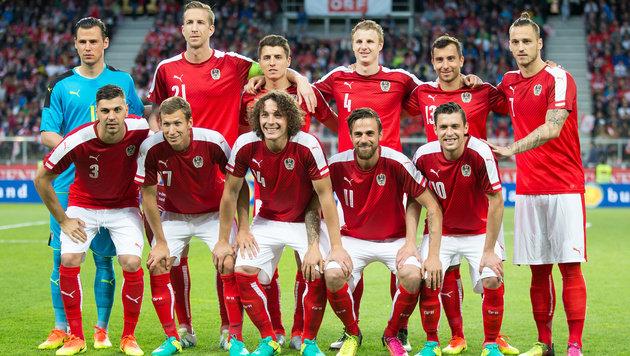Die rot-weiß-rote Elf beim Vorbereitungsspiel gegen Malta (Bild: APA/EXPA/JOHANN GRODER)