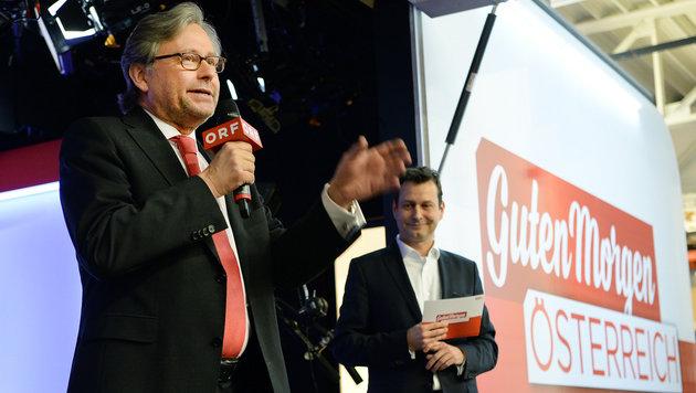 Gemeindebund warnt vor Sparkurs bei ORF-Früh-TV (Bild: APA/ROLAND SCHLAGER)