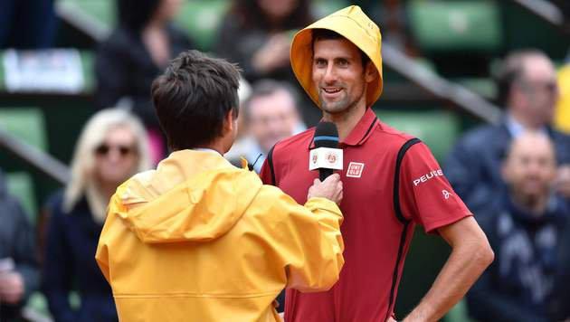 Wawrinka sicher im Halbfinale - Murray in 4 Sätzen (Bild: AFP)