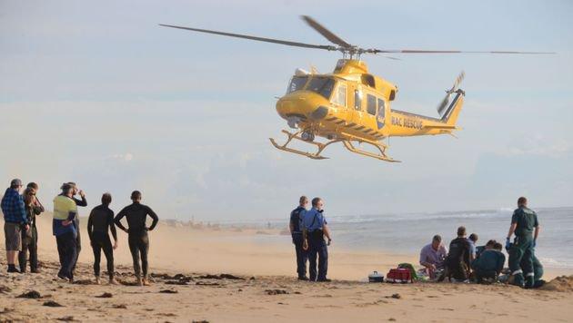 Australien: Hai biss 29-j�hrigem Surfer Bein ab (Bild: APA/AFP/Mandurah Mail/Marta Pascual Juanola)