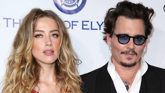 Amber Heard und Johnny Depp waren 15 Monate verheiratet. (Bild: Rich Fury/Invision/AP)