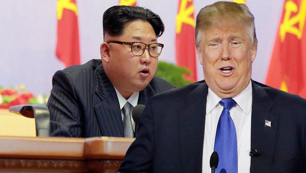 """Kim Jong Un hält Trump für """"weise und weitsichtig"""" (Bild: AFP, AP)"""