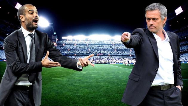 Mourinho kündigt Waffenstillstand mit Guardiola an (Bild: GEPA)