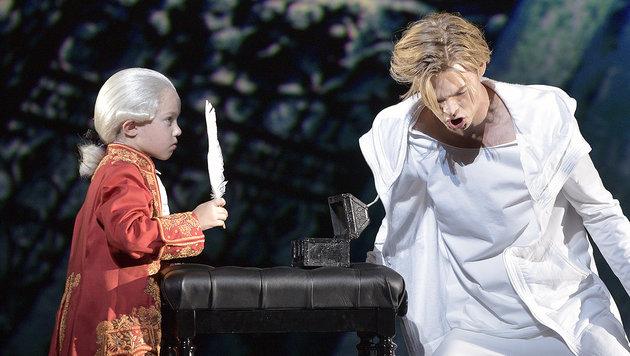 Das Mozart-Musical im Wiener Raimund-Theater (Bild: APA/HANS PUNZ)