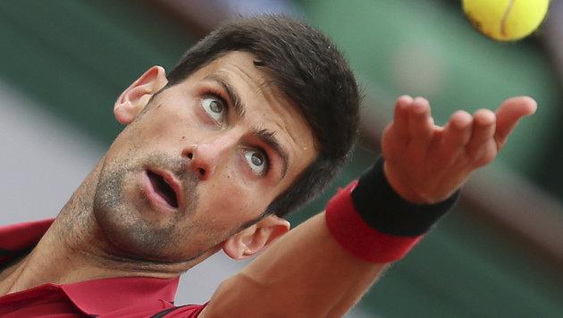 Novak Djokovic: Verpasst er die US Open? (Bild: AP)